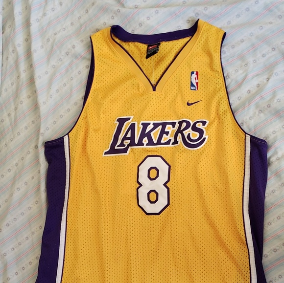 brand new 991ac 2e8bd Authentic Kobe Bryant #8 Los Angels Lakers Nike J